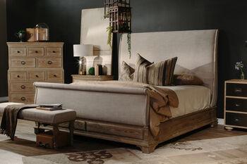 Bernhardt Antiquarian King Sleigh Bed