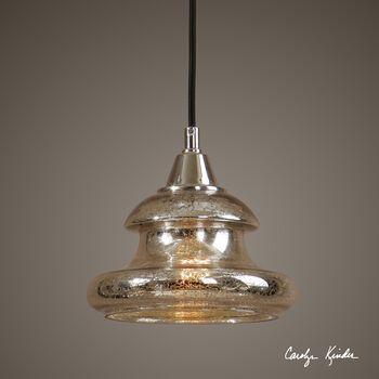 Uttermost Arborea Glass Mini Pendant