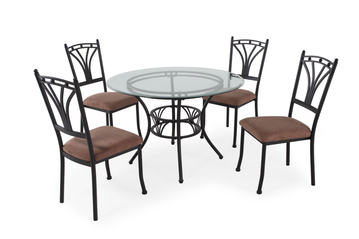 MB Home Five Piece Dining Set Mathis Brothers Furniture