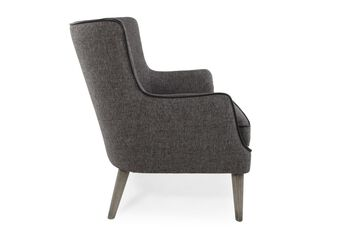 Boulevard Gray Accent Chair
