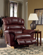La-Z-Boy Crandell Bordeaux Leather Recliner