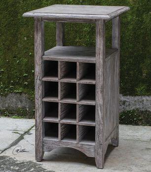 Uttermost Tereza Wine Storage Table