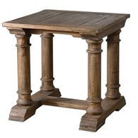 Uttermost Saturia Wooden End Table