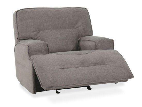 Simon Li Granada Charcoal Power Glider Recliner Mathis