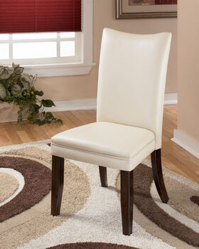 Ashley Charrell Ivory Pair of Side Chairs