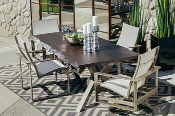 Castelle Park Place Sling Dining Chair
