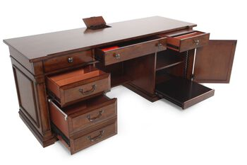 Hooker Select Tynecastle Computer Credenza