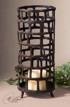 Uttermost Arig Distressed Candleholder