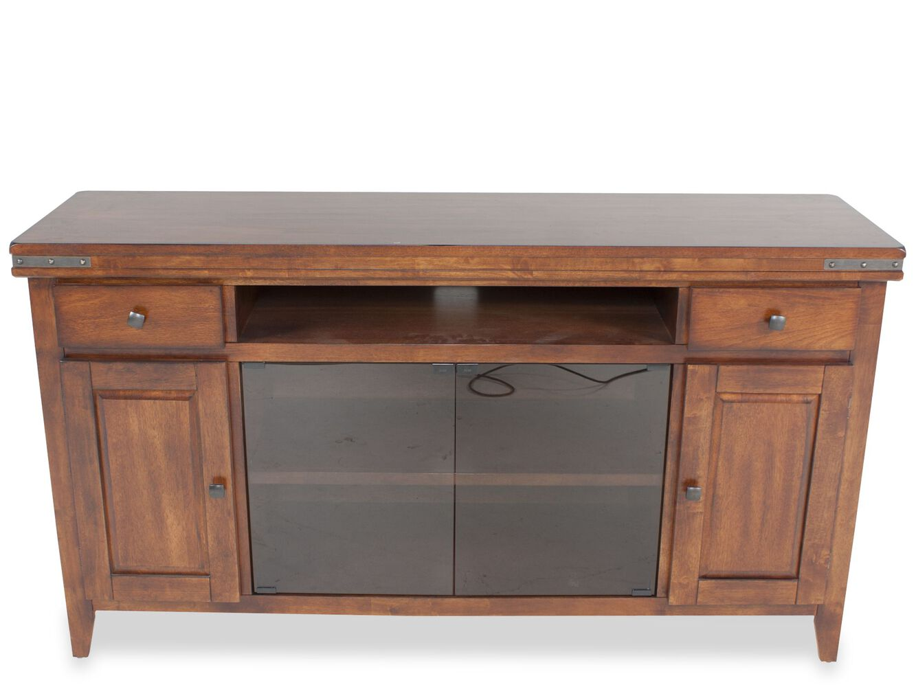 Mango Wood Bedroom Furniture Winners Only Mango 66 Media Base Mathis Brothers Furniture