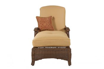 Agio international veranda woven chaise lounge mathis for Agio international chaise lounge