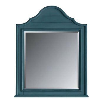 Stanley Coastal Living Retreat English Blue Arch Top Mirror