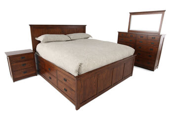 Winners Only Colorado California King Bedroom Suite