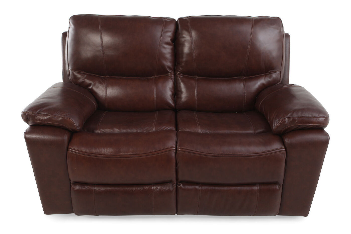 Ashley Penache Reclining Power Loveseat Mathis Brothers Furniture