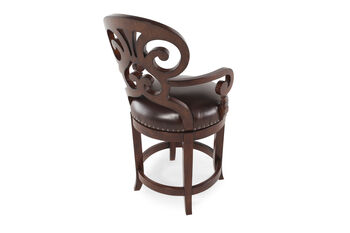 Hooker Jameson Leather Counter Stool