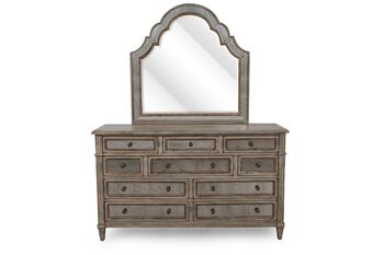 Hooker Select Sanctuary Dresser and Mirror