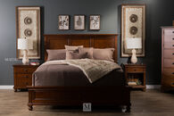 Aspen Oxford Whiskey Brown Bed