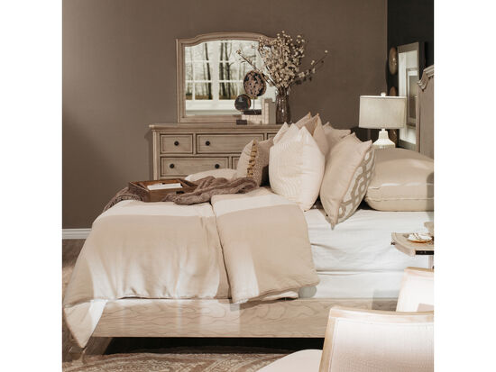 Ashley Demarlos Upholstered Panel Bed Mathis Brothers