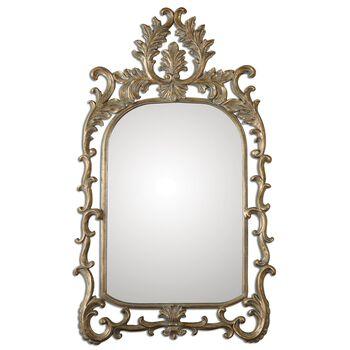 Uttermost Abelia Gold Arch Mirror