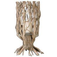 Uttermost Ugo Natural Wood Candleholder