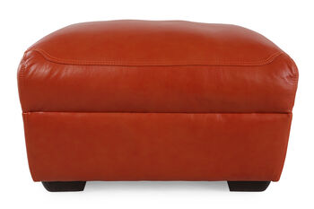 Simon Li London Papaya Ottoman