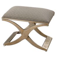 Uttermost Kiah Modern Small Bench