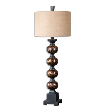 Uttermost Massadona Stacked Spheres Buffet Lamp