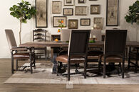 "Hooker Hill Country Bandera Brown 86"" Table"