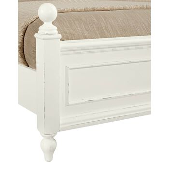 Stone & Leigh Smiling Hill Marshmallow Twin Panel Bed
