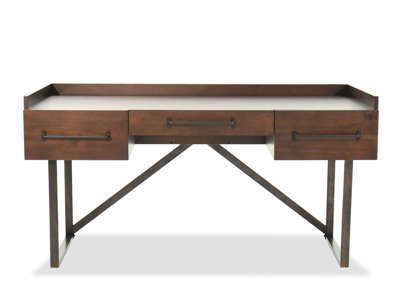 Ashley starmore office desk mathis brothers furniture - Ashley furniture office desk ...