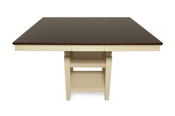 Ashley whitesburg pub dining table mathis brothers furniture for Whitesburg dining room table