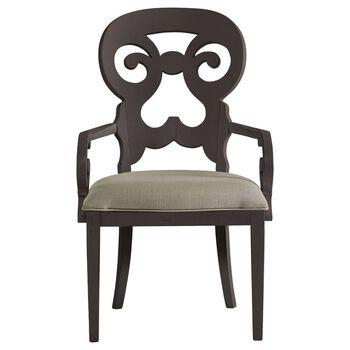 Stanley Coastal Living Retreat Gloucester Grey Wayfarer Arm Chair