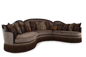 A.R.T. Furniture Giovanna Sable Three-Piece Sectional