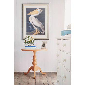 Stanley Coastal Living Retreat Spanish Orange Beachcomber Table