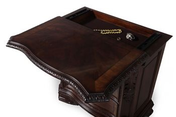 A.R.T. Furniture Old World Wood Top Bedside Chest
