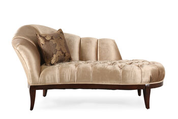 Caracole Gold Chaise