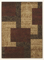 Ashley Rosemont Red/Brown/Gold Medium Rug