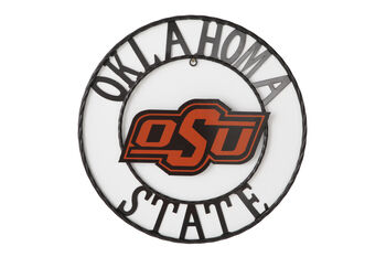 18 Inch Oklahoma State University Metal Wall Décor