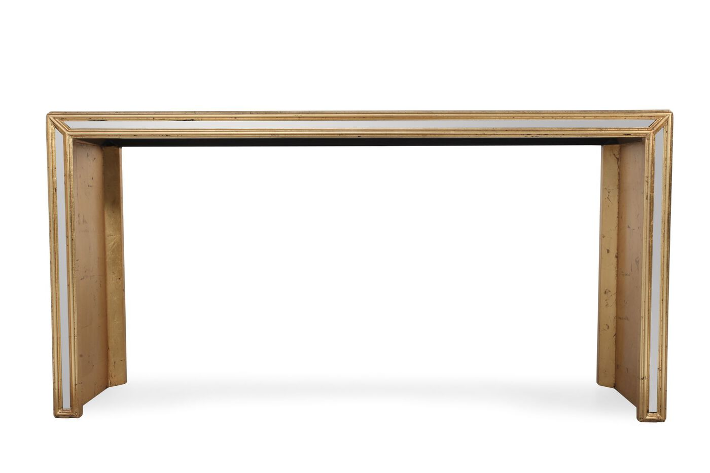 bernhardt salon console table mathis brothers furniture
