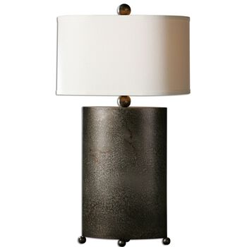 Uttermost Ruggine Rust Silver Table Lamp