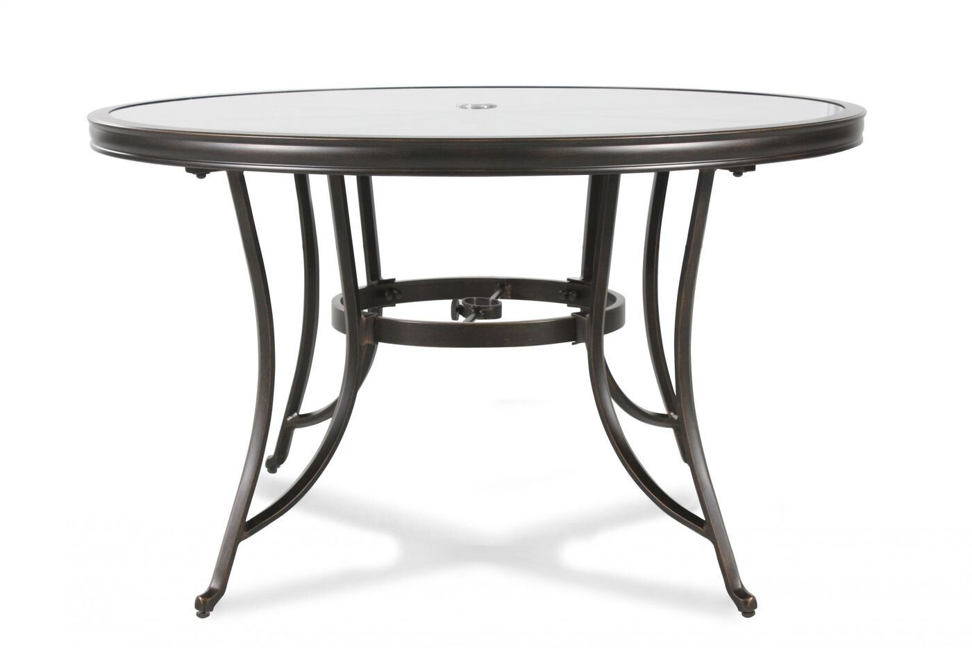 Agio Seville Patio Stained Glass Table