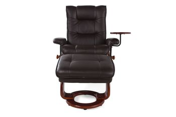 Benchmaster Swivel Reclining Chair and Ottoman