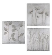 Uttermost Sterling Trio Canvas Art Set/3