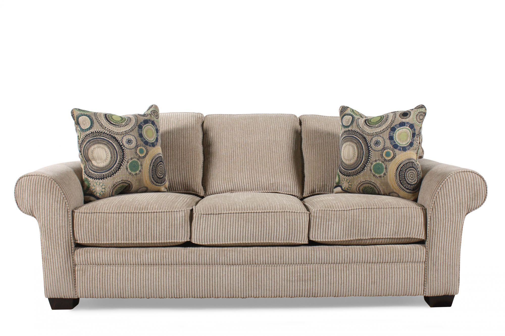 ... Broyhill Zachary Sleeper Sofa Mathis Brothers Furniture ...