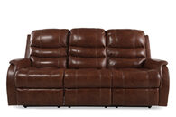 Ashley Metcalf Nutmeg Power Sofa with Adjustable Headrest