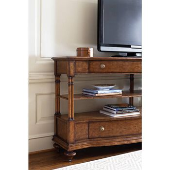 Stanley Arrondissement Heirloom Cherry Reverie Panel Rond Media Console