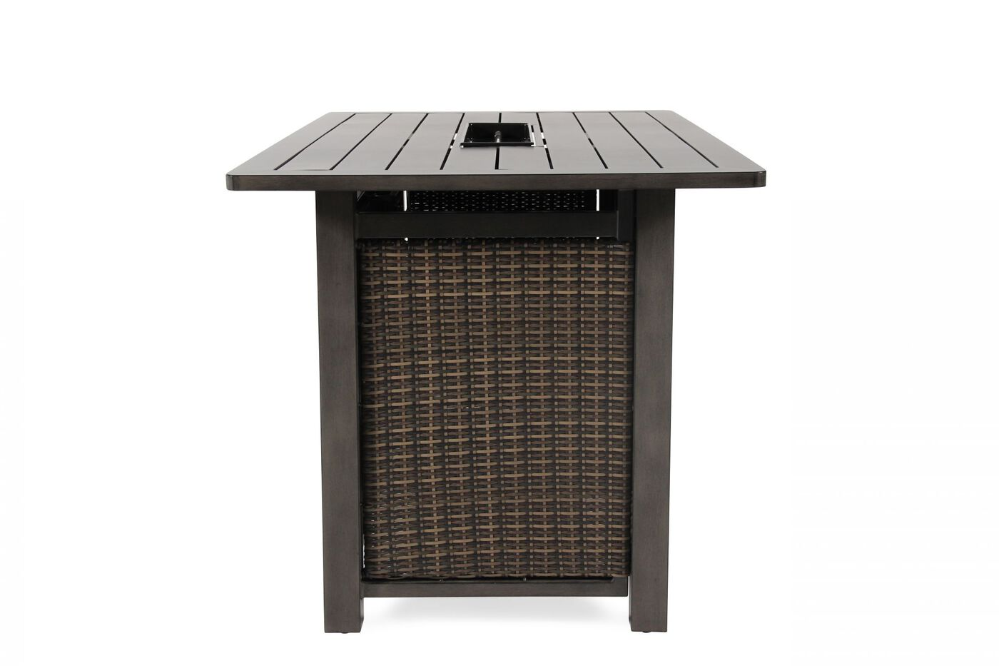 Agio Davenport Bar Height Fire Table Mathis Brothers Furniture
