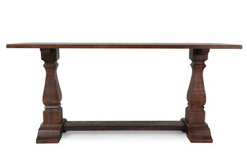 Ashley Cherry Console Table
