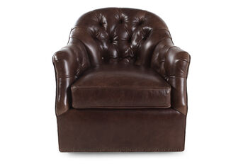 Bradington Young Lowery Swivel Chair