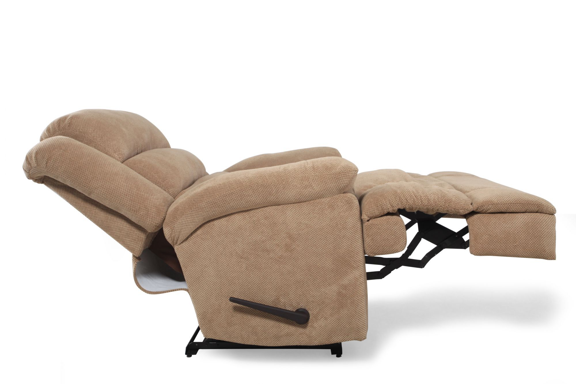 Lane Knox Tan Comfort King Recliner   Mathis Brothers Furniture