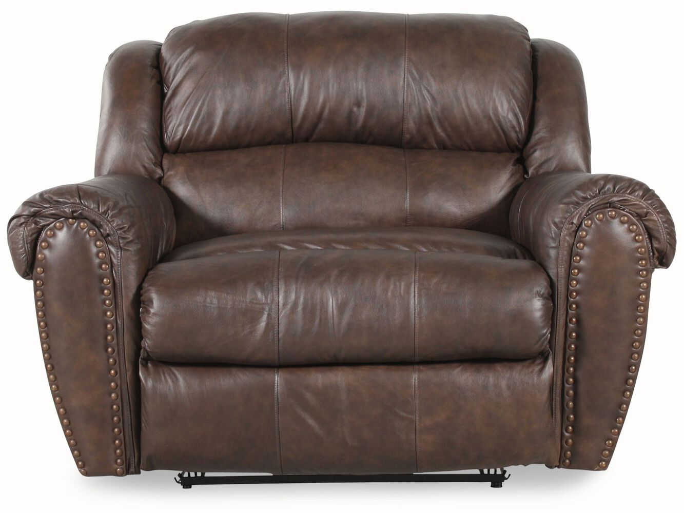 Lane summerlin snuggler leather recliner mathis brothers for Lane furniture